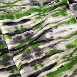 Sonic Lime Green Velvet Fabric