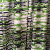 Sonic Lime Green Velvet Fabric Curtain