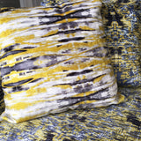 Sonic Yellow Velvet Cushion