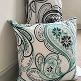Strawberry Fields Mint Green cushion