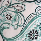 strawberry fields mint green linen fabric