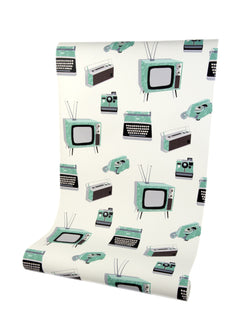 Call Me Baby Mint Green Luxury Wallpaper