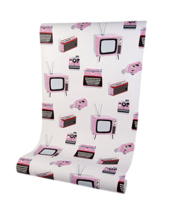 Call Me Baby Candy Pink Luxury Wallpaper