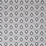 Diamonds are Forever Steel Grey Linen Fabric