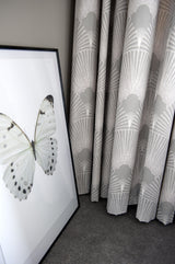 Grey Deco Fabulous Linen Fabric