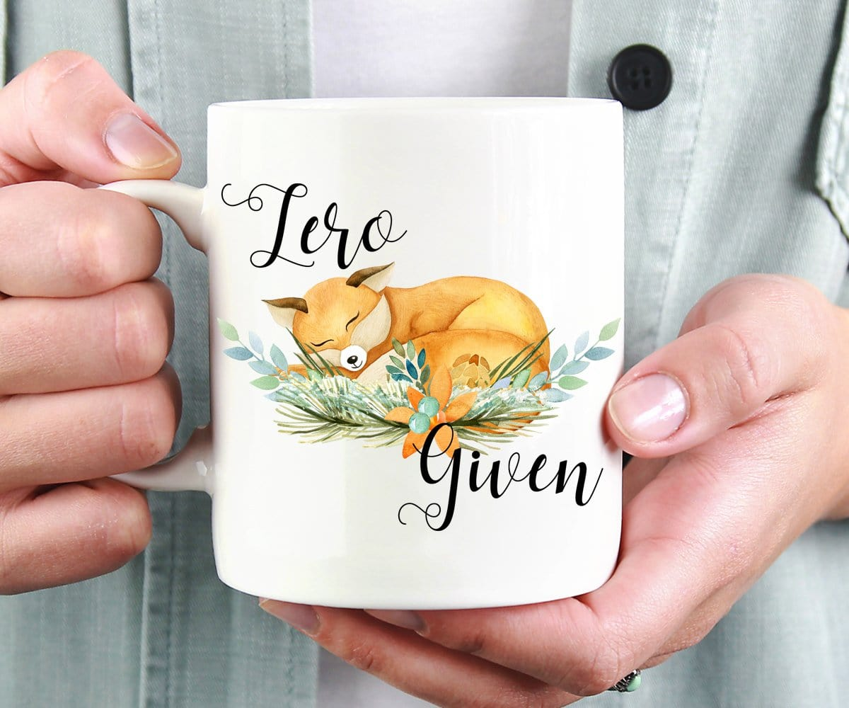 Zero Fox Given Funny Pun Coffee Mug