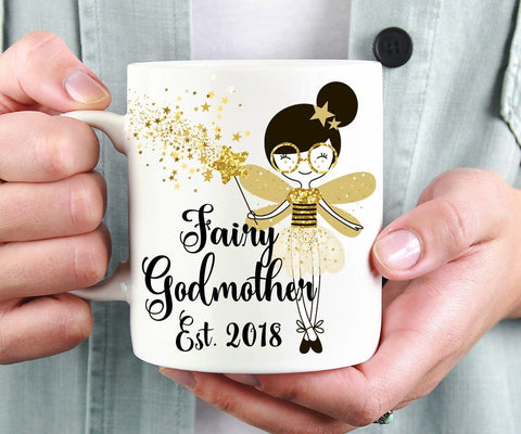 Fairy Godmother Pregnancy Reveal Mug