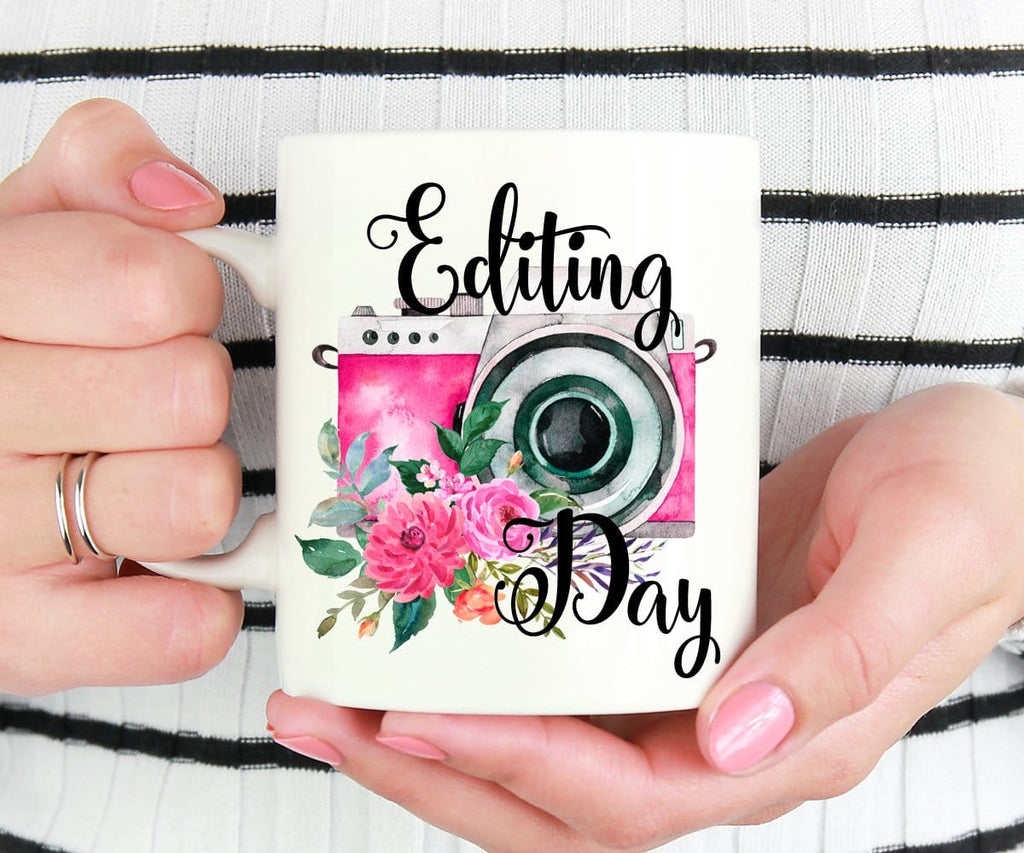 Editing Day Photographer Mug