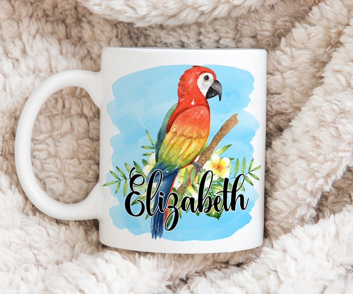 Parrot Mug Personalized Gift For Women