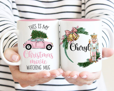 This Is My Christmas Movie Watching Nutcracker Personalized Mug