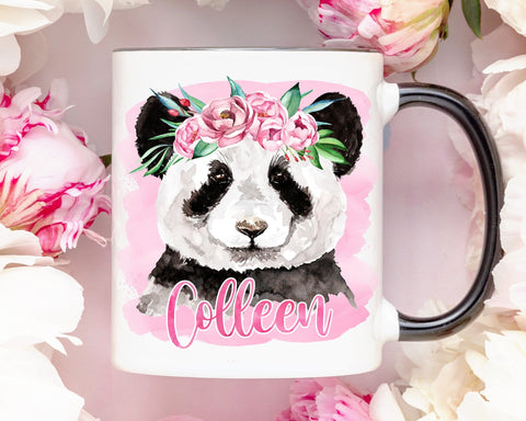 Personalized Panda Coffee Mug