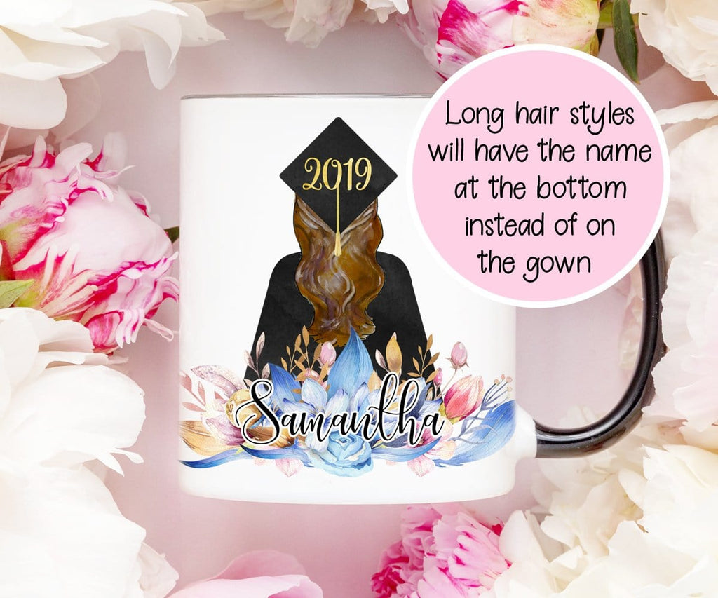 Cap & Gown Graduation Mug Personalized Gift