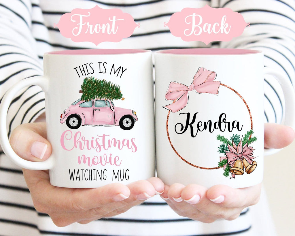 Custom of This Is My Christmas Movie Watching Mug