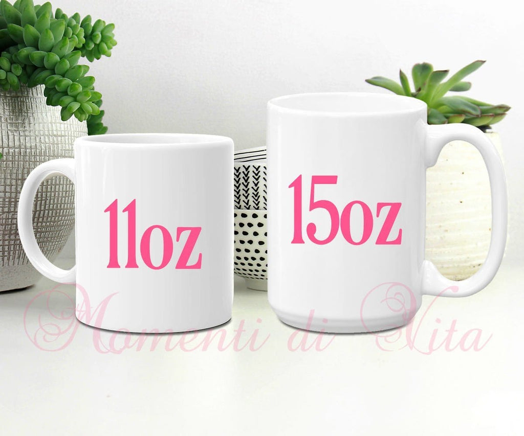 Personalized Name Llama & Cactus Coffee Mug