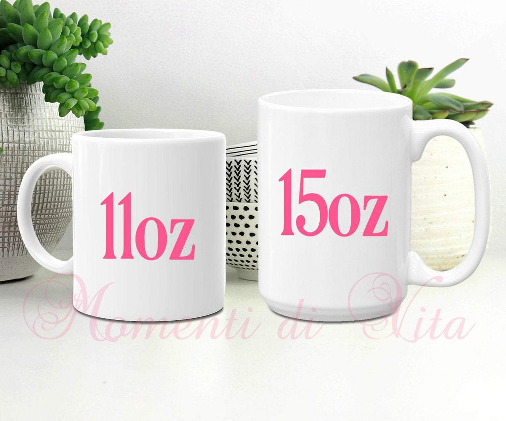 Personalized Flamingo Coffee Mug