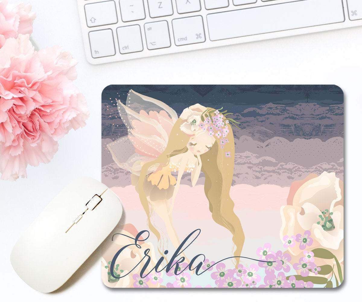 Fairy Personalized Mouse Pad, Fairy Décor