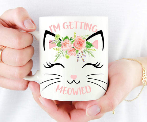 I'm Getting Meowied Mug