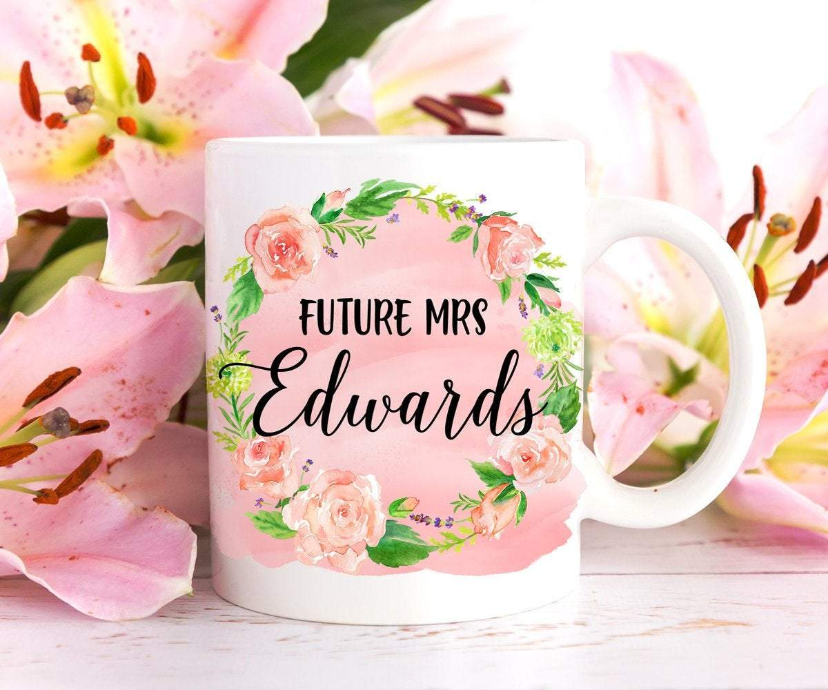 Future Mrs Mug Personalized Bride Gift