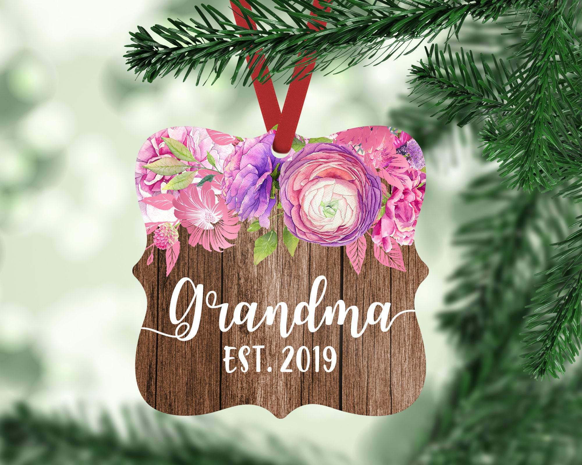 Grandma To Be Christmas Ornament
