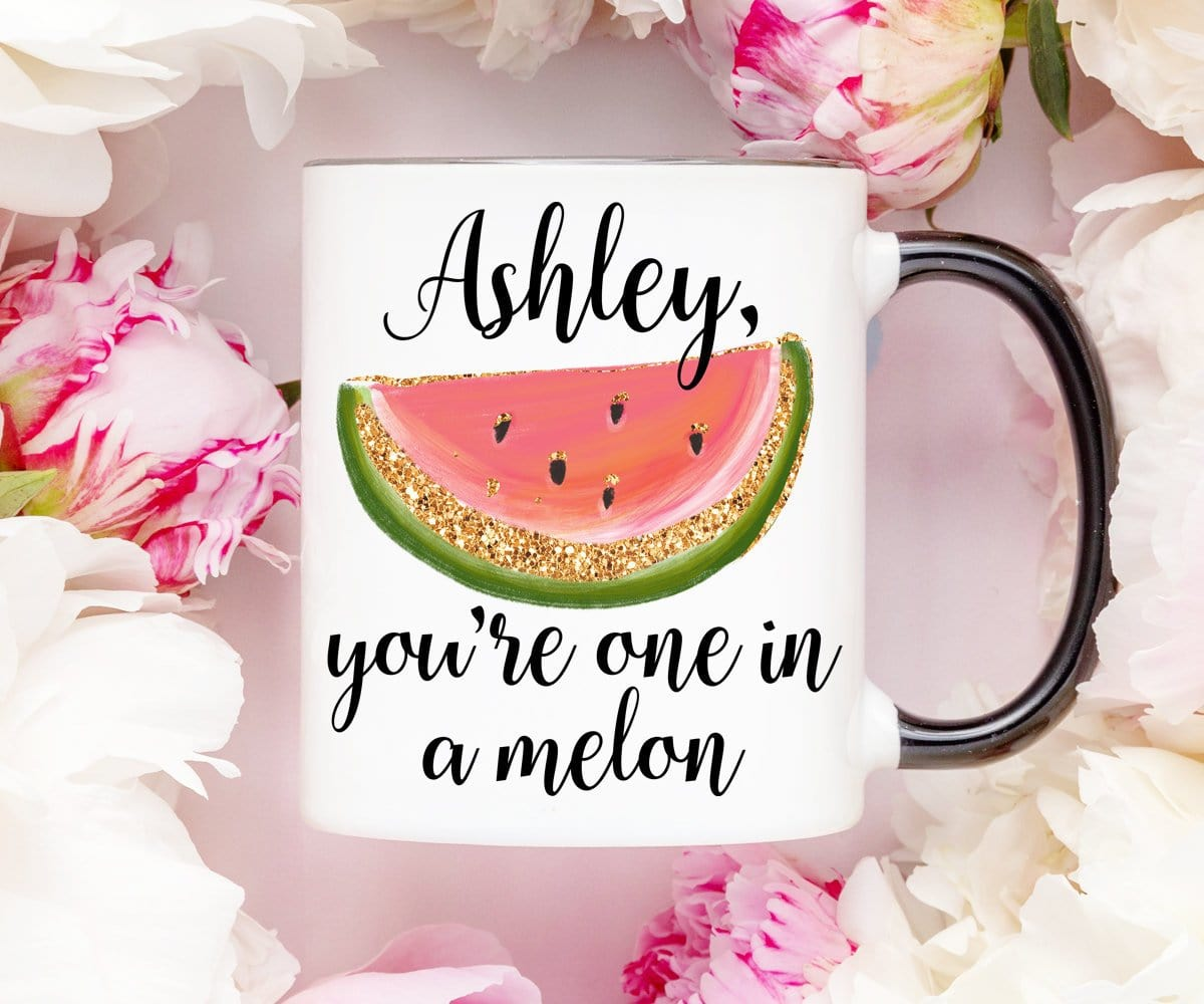 You're One In A Melon Coffee Pun Mug