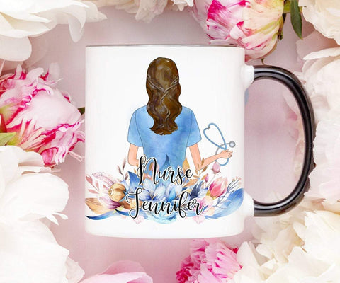 Personalized Nurse Mug Nursing Graduation Gift