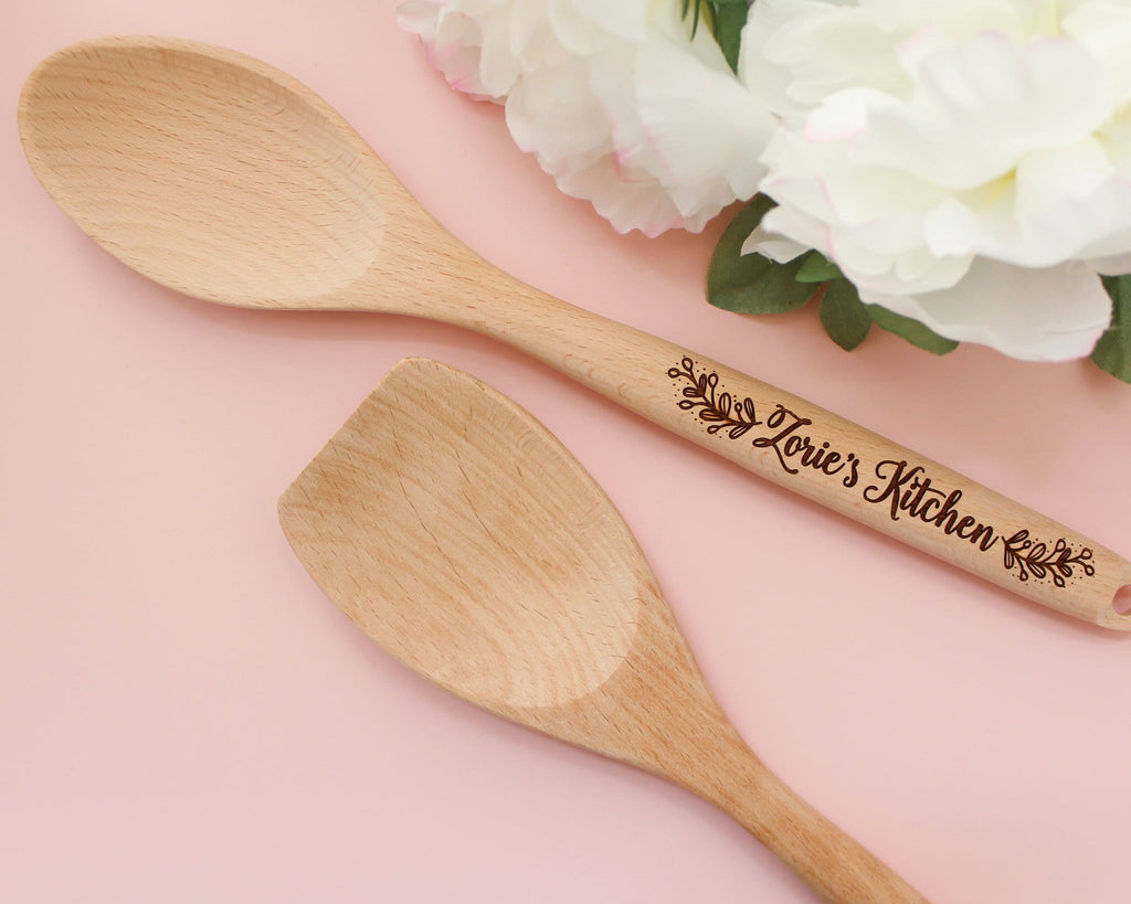 Engraved Personalized Mixing Spoon