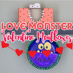 Love Monster Valentine Mailboxes