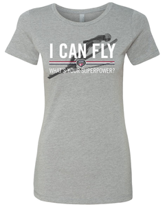 """I Can Fly"" Womens Tee"