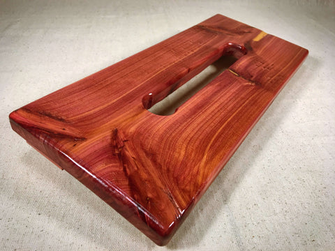 PRE-Order - Hot Box Mini Po'Boy Pedalboard - Red Cedar by KYHBPB