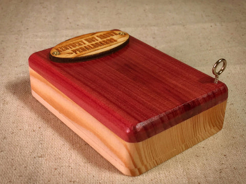 Pick Box - Cedar & Pine - by KYHBPB