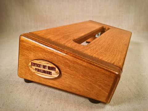 PRE-Order - The Hot Box 2.0 Mini - Wheat Stain Pedalboard by KYHBPB