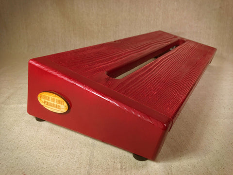 PRE-Order - Hot Box 2.0 Rough Rider Large - Cranberry Textured Pedalboard by KYHBPB