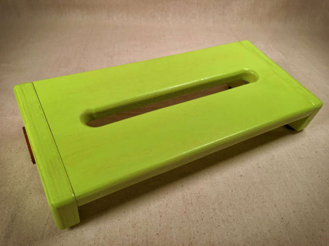 Pre-Order - Hot Box Mini 2.0 - Key Lime  - Pedalboard by KYHBPB,Pedalboards,Kentucky Hot Brown Pedalboards,Kentucky Hot Brown Pedalboards, LLC