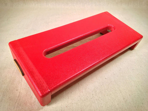 PRE-Order Hot Box Mini 2.0 - Red Sparkle  - Pedalboard by KYHBPB,Pedalboards,Kentucky Hot Brown Pedalboards,Kentucky Hot Brown Pedalboards, LLC