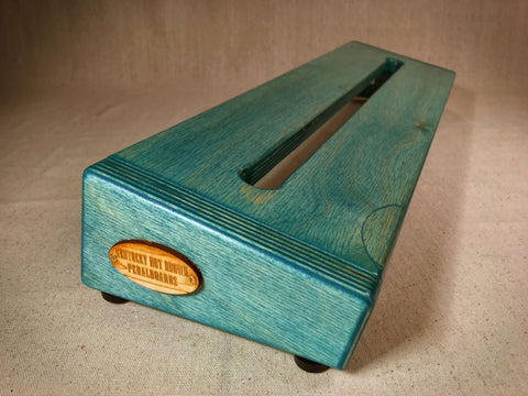 PRE-Order - Hot Box 2.0 Standard - Teal Pedalboard by KYHBPB