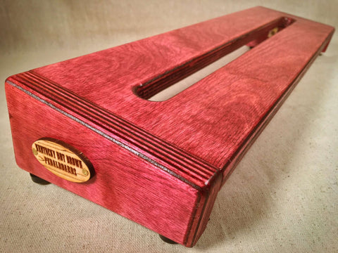 Hot Box 2.0 - Cabernet - Pedalboard by KYHBPB,Pedalboards,Kentucky Hot Brown Pedalboards,Kentucky Hot Brown Pedalboards, LLC