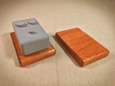 Stomp Riser - Standard - 2 Pack - Cherry by KYHBPB,Accessories,Kentucky Hot Brown Pedalboards,Kentucky Hot Brown Pedalboards, LLC