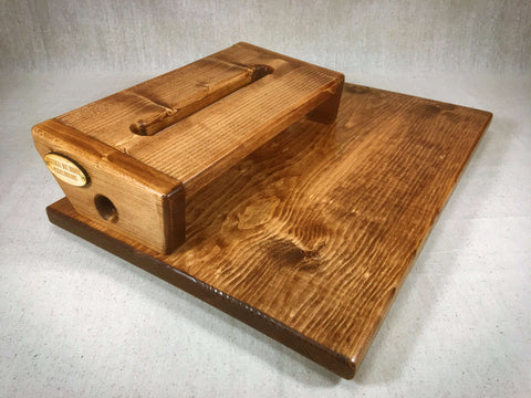 Flat Boy Medium Pedalboard - English Chestnut - With Case by KYHBPB