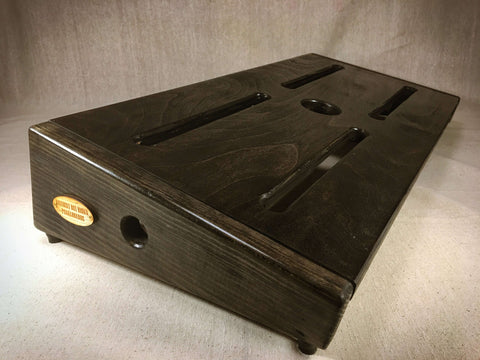 PRE-Order - The Hot Box 2.0 Rough Rider Super XL  - Ebony Pedalboard by KYHBPB,Pedalboards,Kentucky Hot Brown Pedalboards,Kentucky Hot Brown Pedalboards, LLC