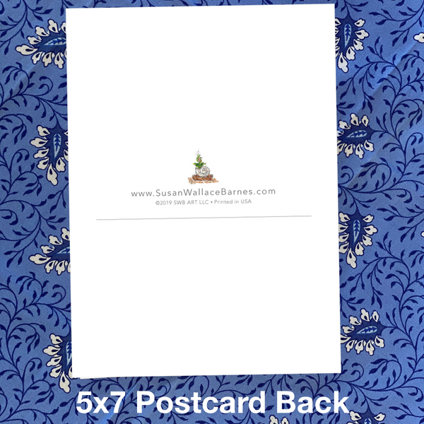 SHELL PHONE 5x7 Postcards with Envelopes - SET OF 10