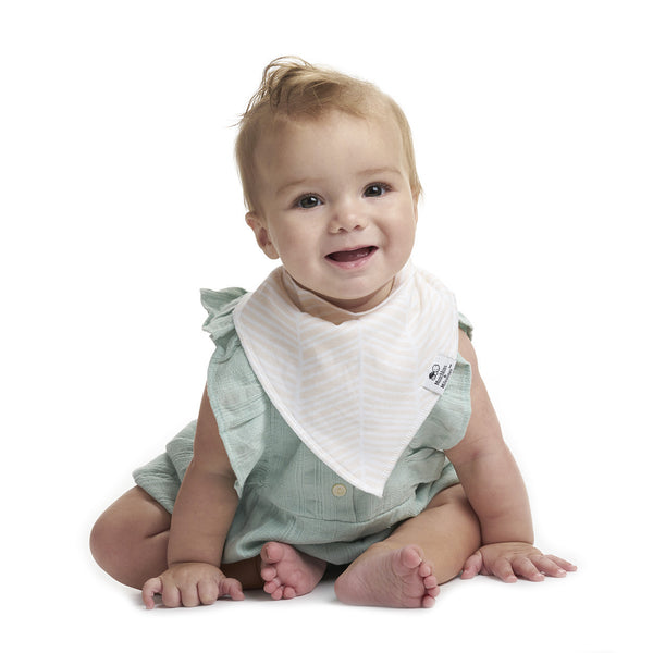 Sugar & Spice Bibs - Girls Pack of 4