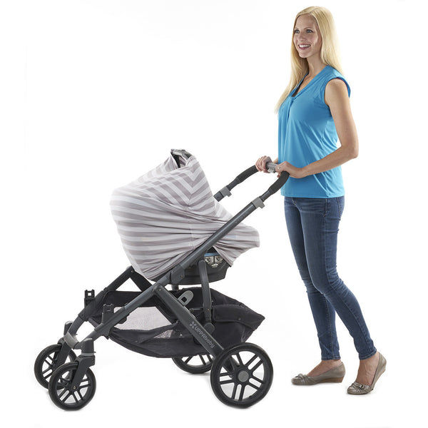 "3-in-1 Car Seat, Shopping Cart & Nursing Cover Free Carry Pouch Included ""The Elegant"""