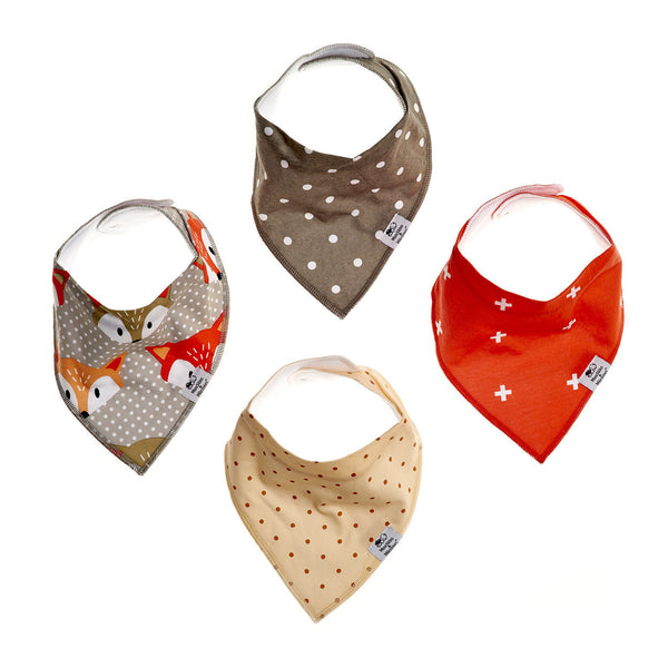 Little Rascals Bibs - Pack of 4