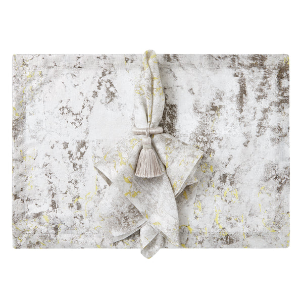 Argento Placemats, S/4