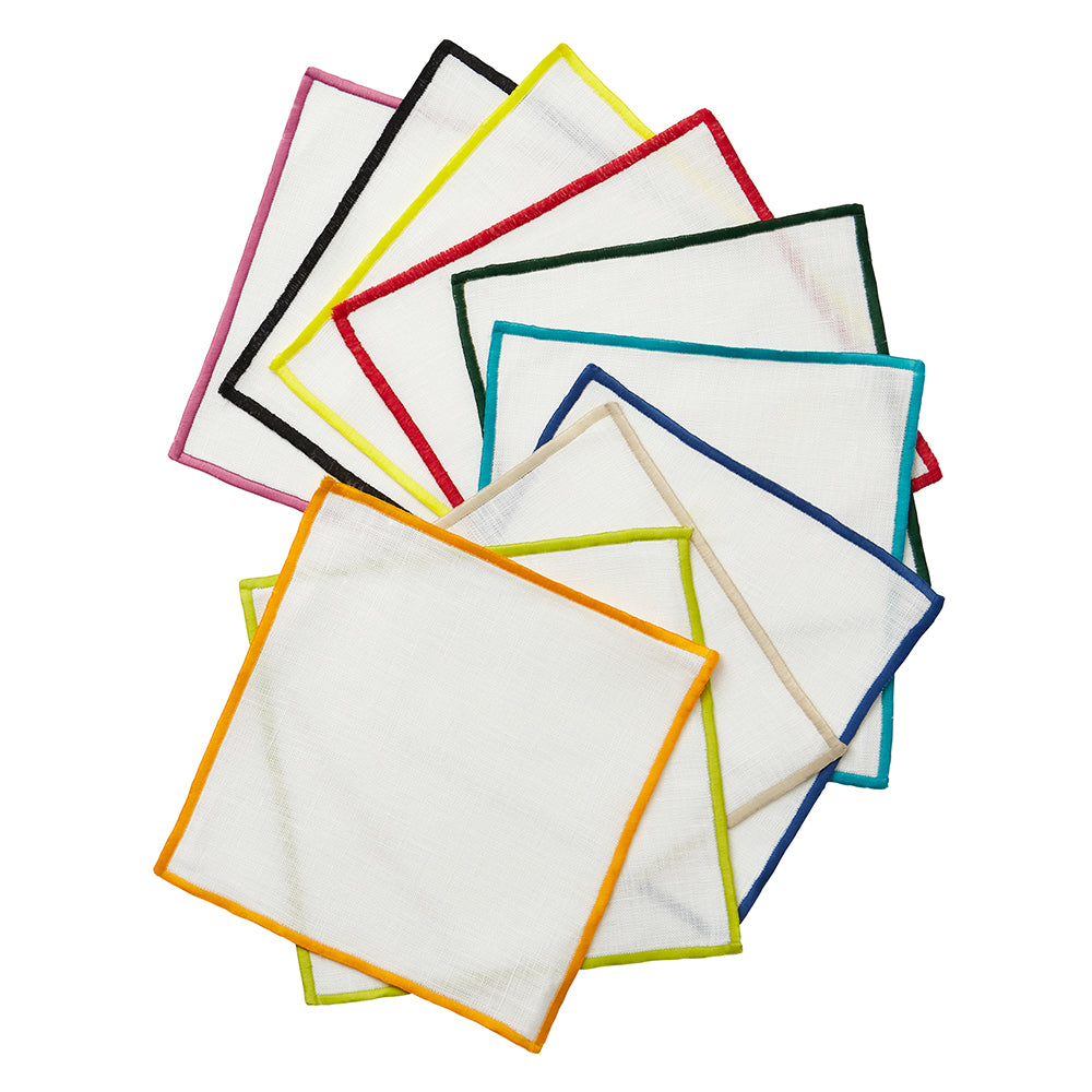 Bel Air Colors Cocktail Napkins