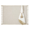 Mode Living Linen napkins with Gold Hem - Bel Air Napkins and Venice Gold Placemat