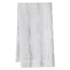Mode Living Cannes Napkins Silver and White - Metallic Linens