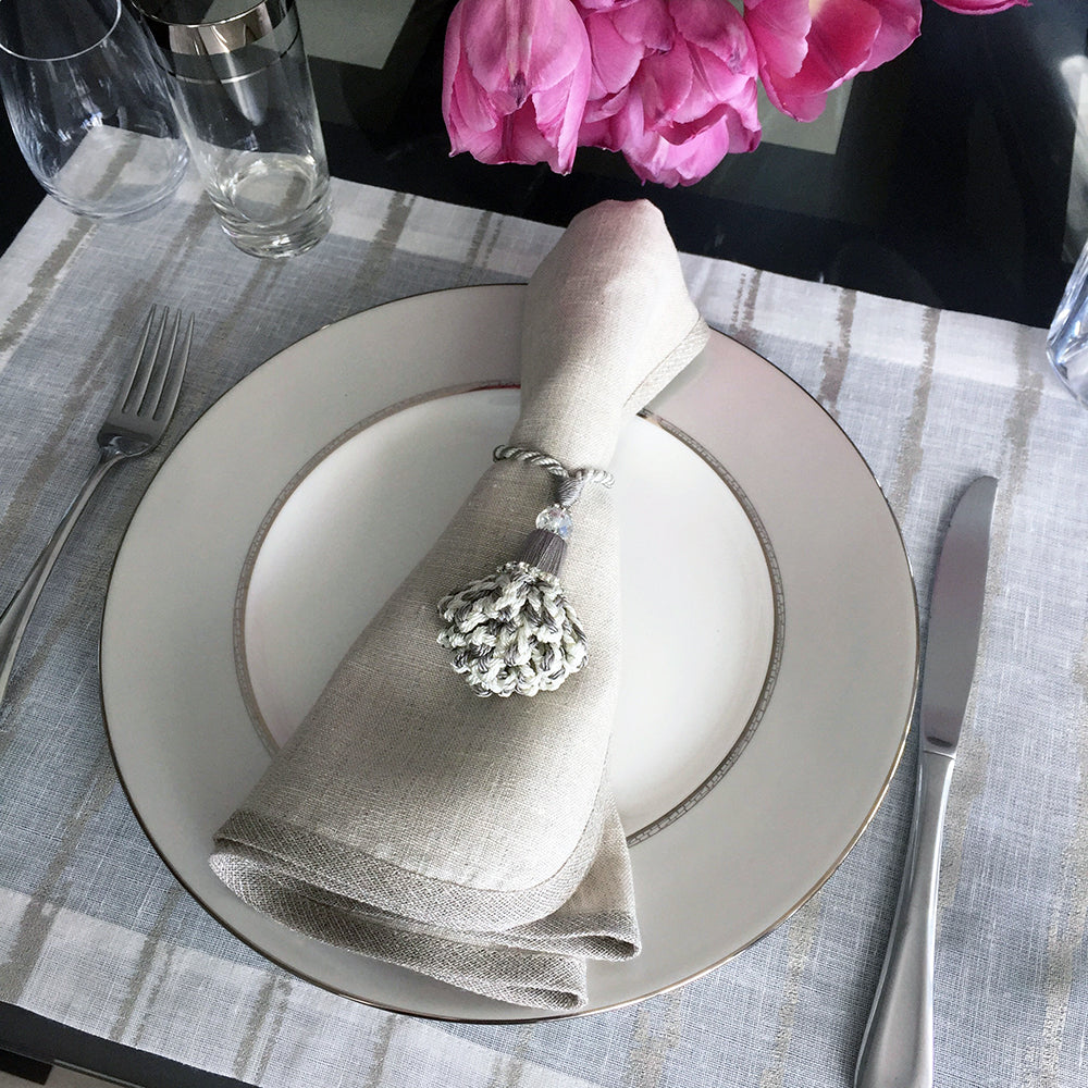 Cannes Placemats, S/4 - Mode Living Tablecloths