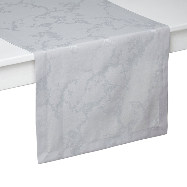 Gray Marble Design Easy care and luxury runner Mode Living Carrera