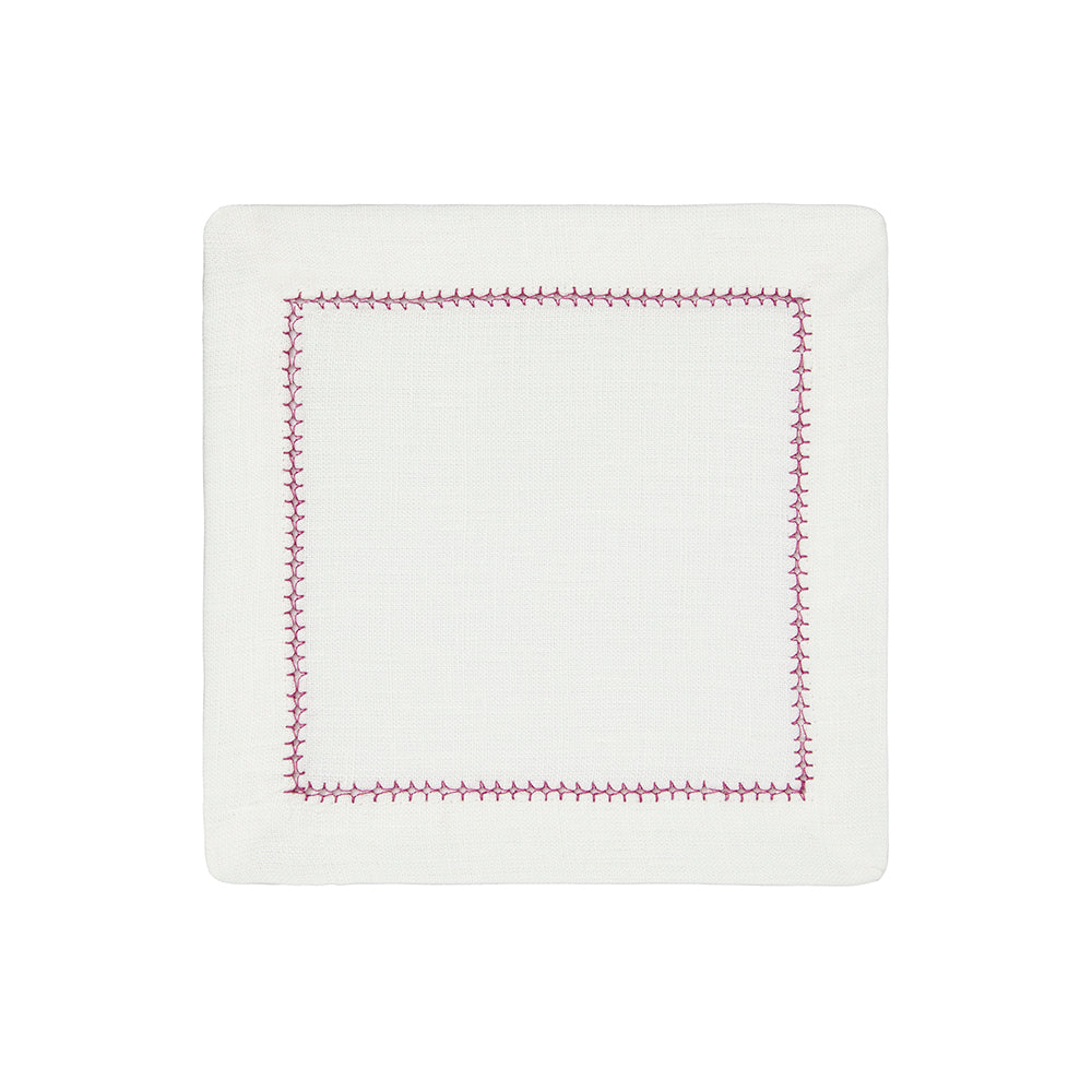 Dolce Colors Cocktail Napkins, S/4